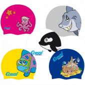 Шапка за плуване Patterned Junior Swim Cap Cressi